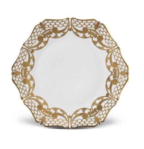 L'Objet Alencon 24K Gold Dessert Plate