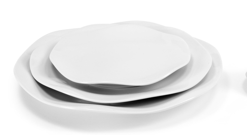 Medard de Noblat Gala Blanc Bread and Butter Plate