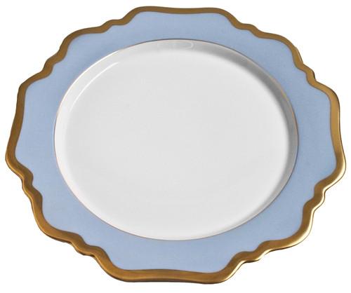 Anna Weatherley Anna's Palette - Sky Blue Dinner Plate