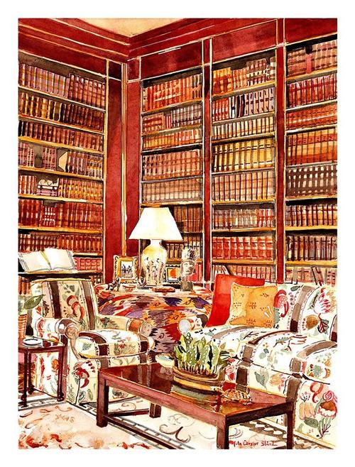 Tiger Flower Studio Brooke Astor's Library Mita Corsini Bland