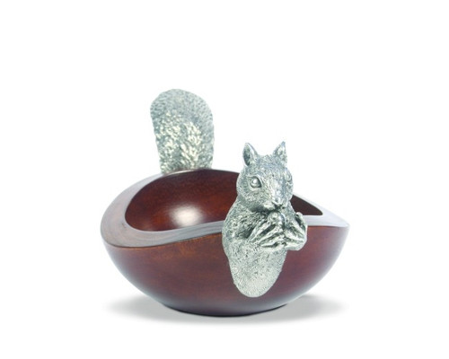 Vagabond House Squirrel Head and Tail Nut Bowl - Small