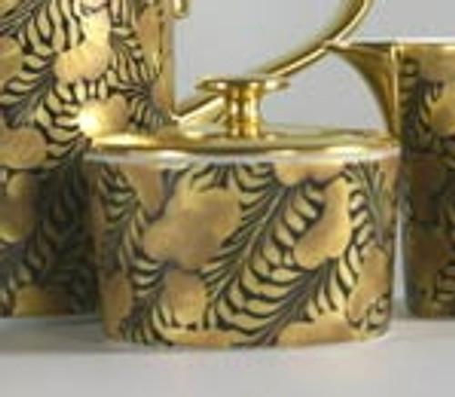 J.L. Coquet Trois Ors Noir Sugar Bowl