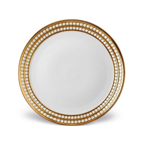 L'Objet Perlee 24K Gold Dinner Plate