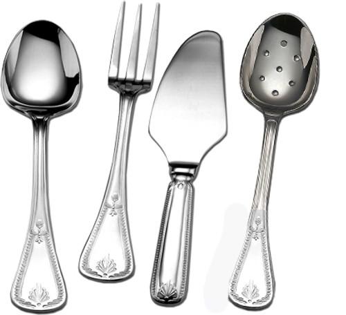 Couzon Consul Silver Plated Four Piece Hostess Set