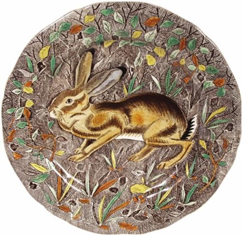 Gien France Rambouillet Hare Dinner Plate