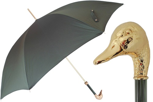 Pasotti Gold Mallard Umbrella