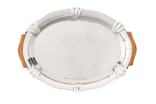 "Juliska Kensington 16"" Handled Platter"