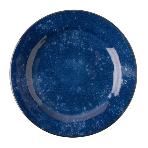 Juliska Puro Dappled Cobalt Dinner Plate
