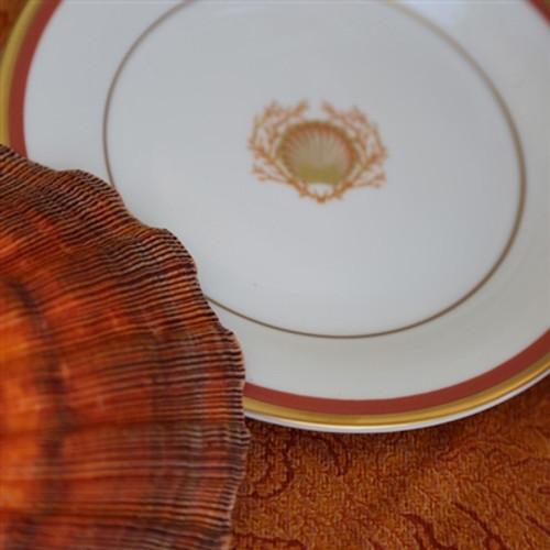 Pickard Charlotte Moss Shell Motif Salad Plate