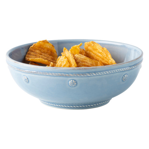 "Berry & Thread Chambray 7.75"" Coupe Pasta Bowl by Juliska"