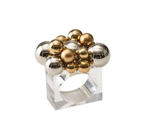 Bauble Napkin Ring, Set of 4 by Kim Seybert