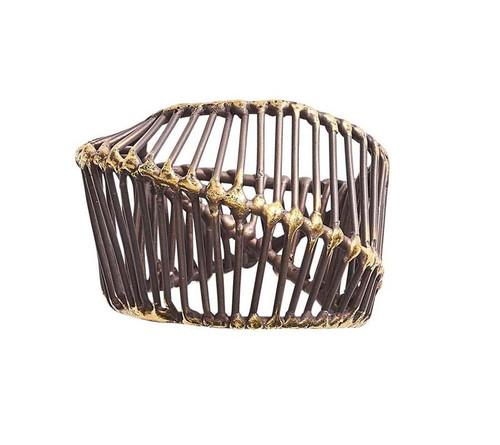 Cage Napkin Ring, Set of 4 by Kim Seybert
