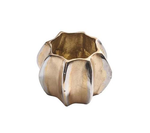 Desert Napkin Ring in Gold & Silver, Set of 4 by Kim Seybert