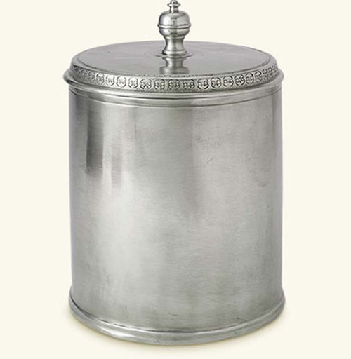Match Pewter Canister