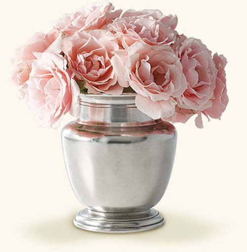 Match Pewter Rimmed Vase, petite
