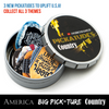 Guitar pick holder tin pick container