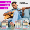 Full Color Double Sided Chord Charts