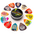 Funny guitar picks and color guitar picks and guitar picks gifts set