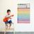 Child Beginner Ukulele Lesson Chart