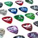 Cheap guitar picks and fun guitar pick ideas