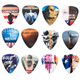 Full color guitar picks ivideosongs pickatudes