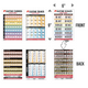 """Double Sided Full Color 6""""x 9"""" Guitar Charts"""