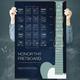 Honor Thy Fretboard Guitar Chord Chart Poster