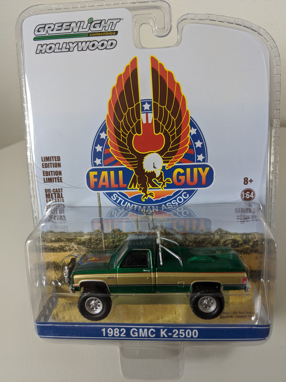 1 64 Fall Guy Stuntman Association 1982 Gmc K 2500 Green Machine Town And Country Toys