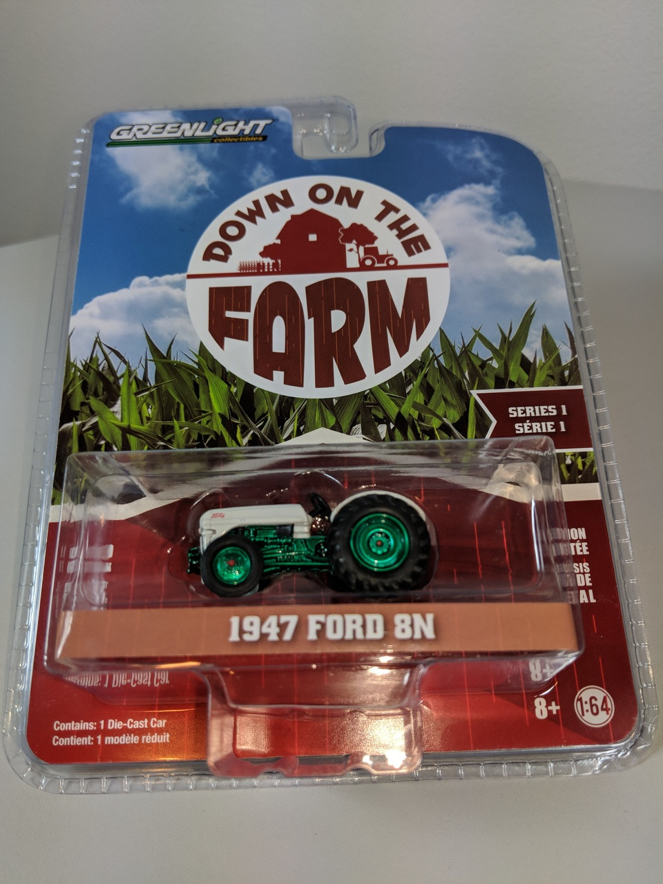 1 64 Down On The Farm Series 1 1947 Ford 8n Tractor Green Machine Town And Country Toys