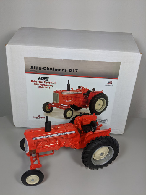 1:16 Allis Chalmers D17 Tractor (Helle Exclusive) by Scale Models