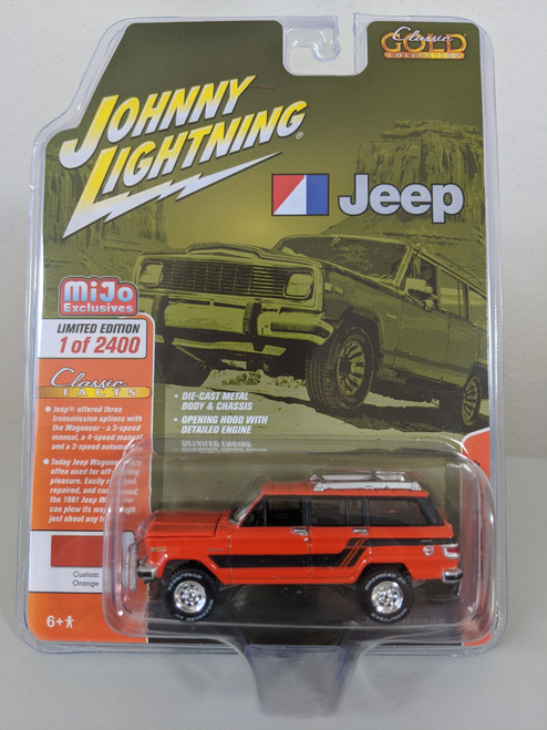 1:64 1981 Jeep Wagoneer 4x4, MiJo Exclusive