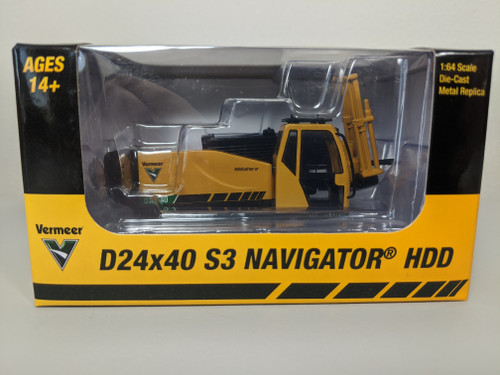 1:64 Vermeer D24x40 S3 Navigator Horizontal Directional Drill by SpecCast