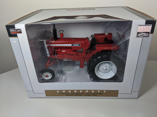 1:16 Cockshutt 1650 Diesel Tractor with Wide Front by SpecCast