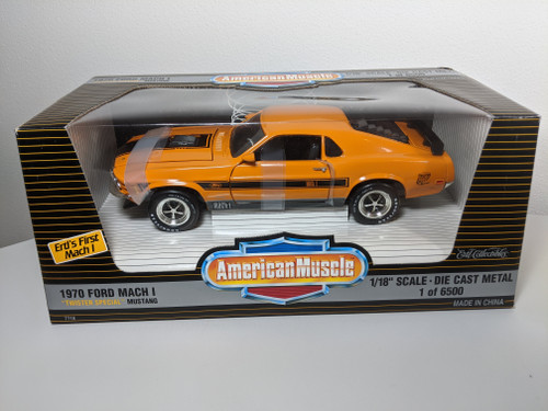 1:18 1970 Ford Mustang  Mach 1 Twister Special by Ertl