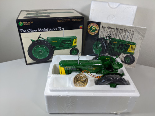1:16 Oliver Super 77 Gas Tractor Precision Series 10 by Ertl