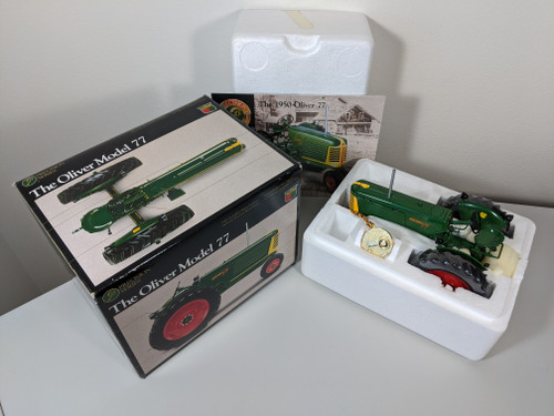 1:16 Oliver 77 Row Crop Gas Tractor Precision Series 4 by Ertl