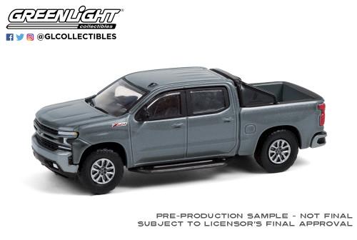 North Sky Blue Metallic 35170-F Greenlight 1:64 All-Terrain Series 10-2020 Silverado High Country