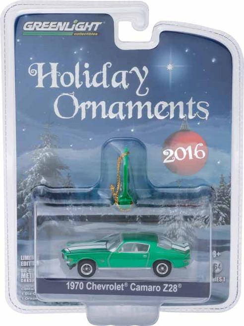 1:64 GreenLight 2016 6 of 6 Holiday Ornaments Series 1 - 1970½ Chevrolet Camaro Z/28