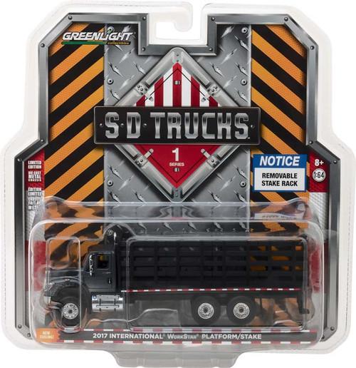1:64 S.D. Trucks Series 1 - 2017 International WorkStar Platform Stake Truck