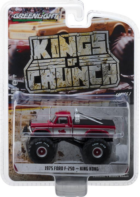 1:64 Kings of Crunch Series 1 - King Kong - 1975 Ford F-250 Monster Truck