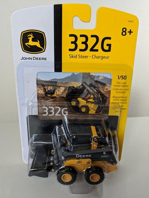1:50 John Deere 332G Skid Steer Wheel Loader