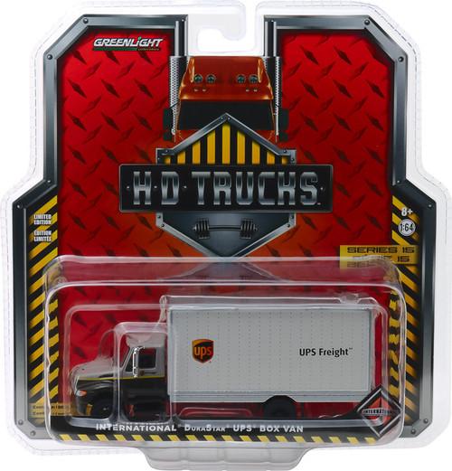 1:64 H.D. Trucks Series 15 - 2013 International Durastar Box Van - United Parcel Service (UPS) Freight