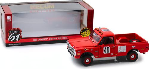 1:18 Highway 61 - 1:18 Mecum Auctions - 1969 Chevrolet C-10 Baja 1000 Truck
