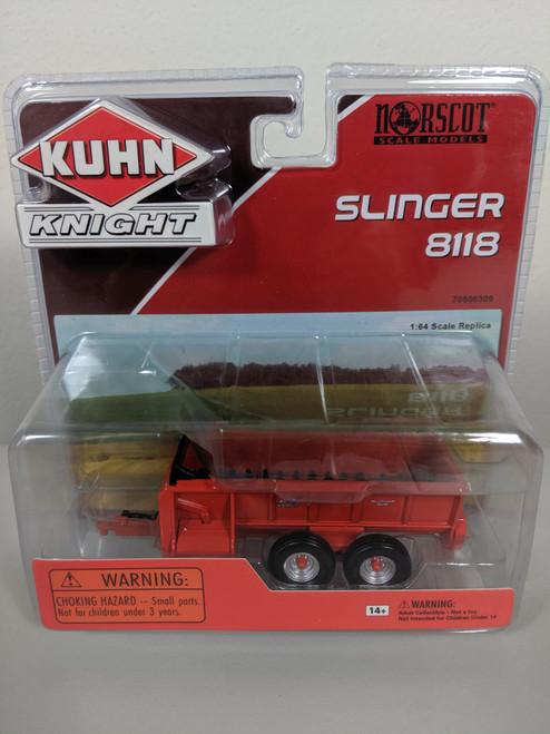 1:64 Kuhn Knight 8118 Pro Twin Slinger Spreader