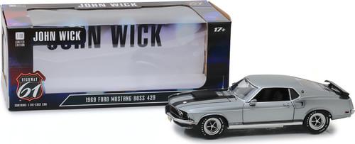 1:18 Highway 61 - 1:18 John Wick (2014) - 1969 Ford Mustang BOSS 429
