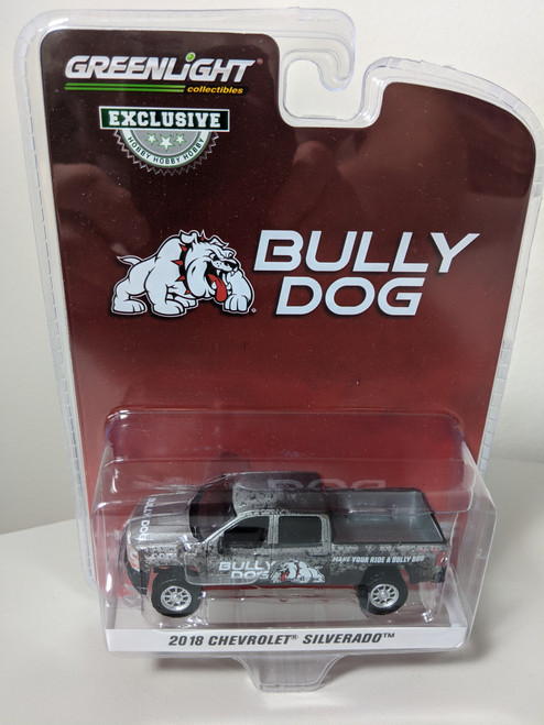 "1:64 2018 Chevrolet Silverado - Bully Dog ""Make Your Ride a Bully Dog"" (Hobby Exclusive)"