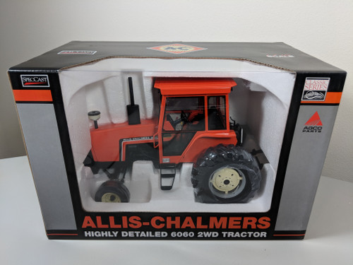 1:16 Allis Chalmers 6060 2 Wheel Drive Tractor with Cab