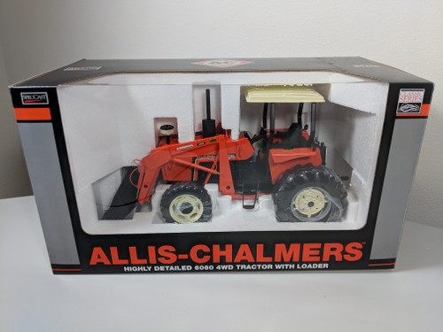 1:16 Allis Chalmers 6060 Tractor with FWA, Cab, and 460 Loader