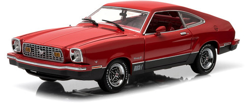 1:18 1976 Ford Mustang II Mach 1 - Red & Black