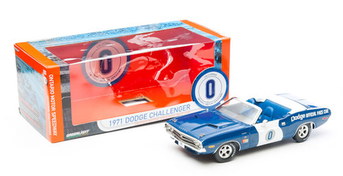 1:18 1971 Dodge Challenger - Ontario Motor Speedway Pace Car